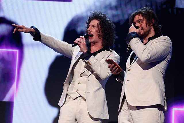 "Apple Music Song of the Year, as voted by the public was awarded to Peking Duk for their song 'Stranger' featuring Elliphant. ""Firstly I want to thank the Gadigal people, past and present owners of this land,"" said Reuben Styles as the pair accepted the award."