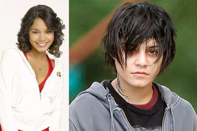 VANESSA HUDGENS; Disney production: High School Musical. Turning point: Starring alongside Selena Gomez in Spring Breakers and appearing in Gimme Shelter in which she played a homeless teen fleeing an abusive home life.