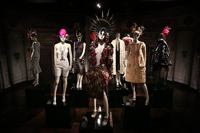 The 'Isabella Blow: Fashion Galore!' exhibition at London's Somerset House in 2013