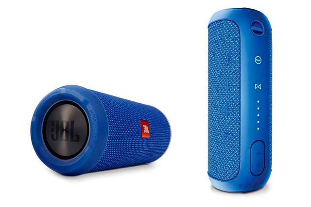 For the music-obsessed. Bring on the beach tunes with the JBL Flip3 Portable Speaker, $99, jbhifi.com.au. The battery lasts 10 hours, it syncs up seamlessly with your phone via Bluetooth and is so splashproof you can clean it with running water.