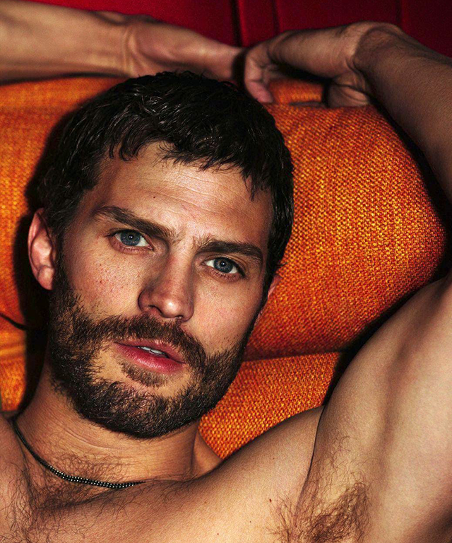 Jamie Dornan, 34, unsurprisingly had a super successful career as an underwear model, before leaping into acting. 'Fifty Shades of Grey' made him a household name; 'The Fall' proved he could actually act.