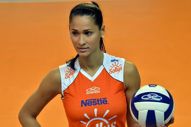 Jaqueline Carvalho, volleyball player