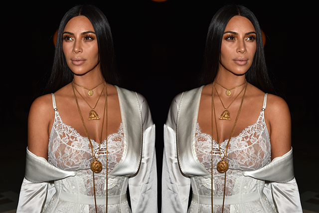 "1. According to a statement by Kim's spokesperson: ""Kim Kardashian West was held up at gunpoint inside her Paris hotel room this evening, by two armed masked men dressed as police officers. She is badly shaken but physically unharmed."""
