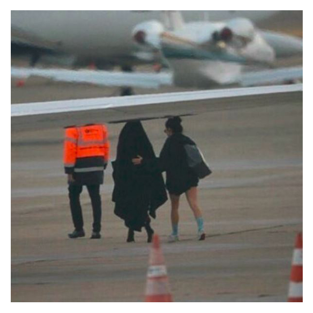 5. On Monday, Kim left Paris on a private jet headed for New York.