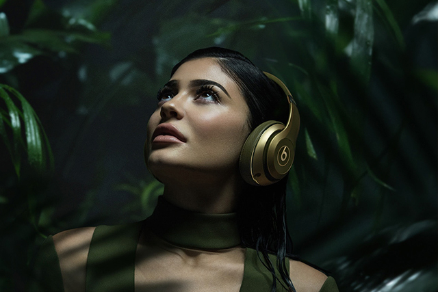 Kylie Jenner fronts Balmain x Beats campaign