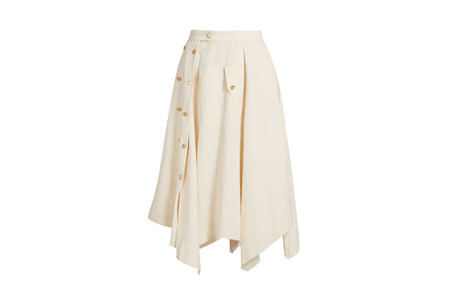 Loewe skirt, $2150, matchesfashion.com/au