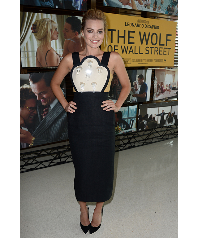 At the Australians In Film Screening of 'The Wolf Of Wall Street' in LA, January 7, 2014