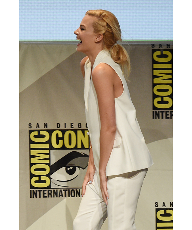 At Comic-Con International 2015 in San Diego, July 11, 2015