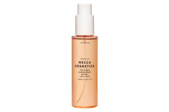 Mecca Sunbrella Invisible Superspray SPF 50+, $42