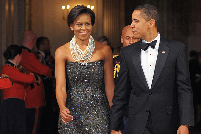 At the White House on February 22, 2009 in Washington, DC