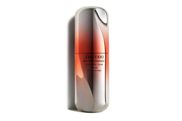 Shiseido Bio-Performance LiftDynamic Serum, $95: Ditch the needles and indulge in this serum instead. As soon as it's applied, you'll feel an instant tightness and firmness to your complexion. Overtime, it helps contour your face and will help diminish the appearance of sagging, wrinkles or loss of resilience in your complexion.