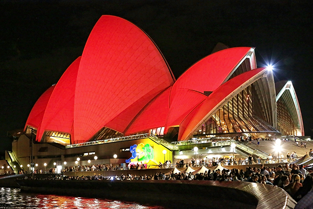 In Sydney? Head down to the Opera House for a bunch of free sightseeing activities. The famed white sails will glow red until January 29, plus you can check out two 8x8 metre rooster lanterns 	at Bennelong Point, alongside other Year of the Rooster lunar lanterns. The Opera House will also be conducting tours in Mandarin, for those wanting to brush up on some local history.