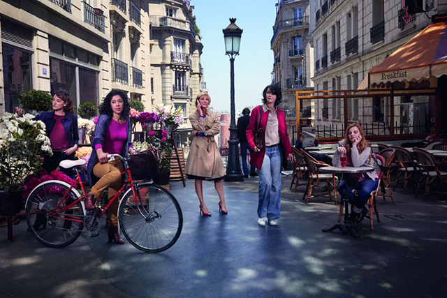 Paris etc. – This television series created for Canal+ takes a cheeky foray into the private lives of Parisian women. Lou Roy-Lecollinet, Valeria Bruni Tedeschi, Anaïs Demoustier, Naidra Ayadi and Zabou Breitman play five women going through the ups & downs of their daily humdrum, beautifully framed by Paris. Through them, we experience five ways of being, crying, screaming, laughing, grinding teeth, having fun, not having fun, drinking too much, growing up, resisting stuff, making a child, not making a child, not wanting to go home… and five ways to love. The Festival will be screening the first three 30-minute episodes of season one of Paris etc. as a feature presentation.