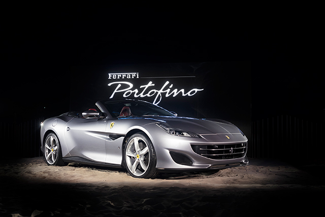 ferrari portofino launch australia elements byron bay buro 24 7 australia. Black Bedroom Furniture Sets. Home Design Ideas