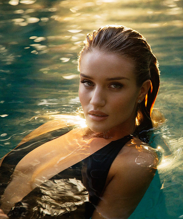 Rosie Huntington-Whiteley, 29, is an English model making a slow transition into Hollywood via 'Transformers: Dark of the Moon' and 'Mad Max: Fury Road'.