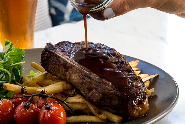 The Royal Hotel Paddington: Sunday roast at the pub with sports on the box? This is probably the most genius Father's Day trio ever. It's so good it's set to be added to your reg Sunday family line up.