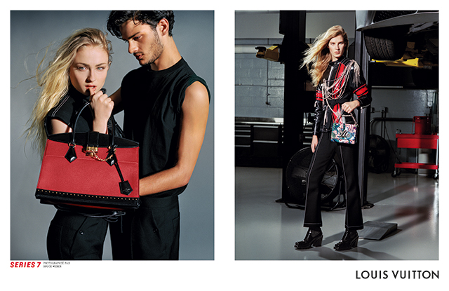 Louis Vuitton A/W '17 with Sophie Turner and Angela Linvall