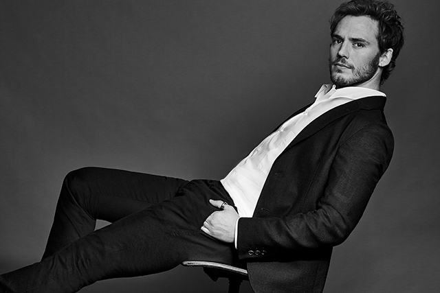 Sam Claflin, 29, has the English schoolboy charm which makes roles in 'Me Before You', 'The Hunger Games' and 'Love, Rosie' a natural fit.