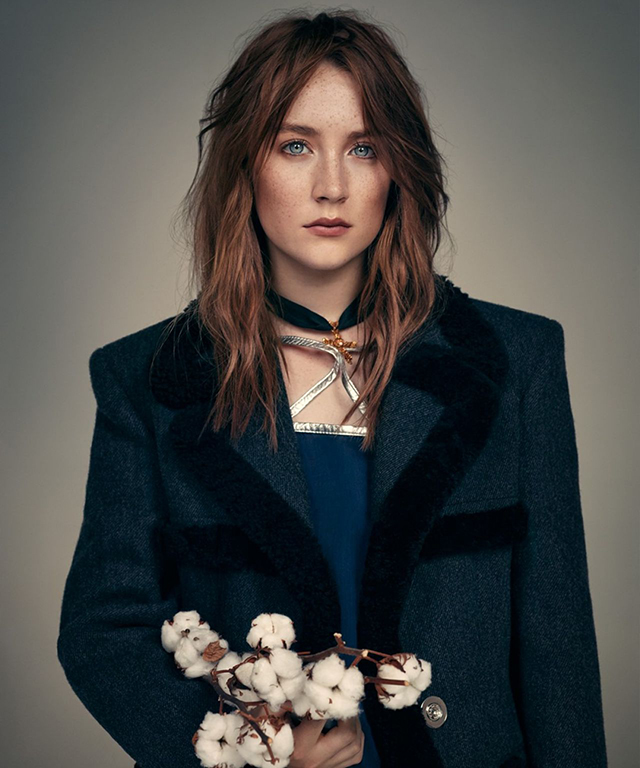 Saoirse Ronan, 22, may have the hardest to pronounce name in Hollywood, but her fierce talents endear her to directors like Wes Anderson ('The Grand Budapest Hotel'). She also won an Oscar nom for 'Brooklyn' and played a key role in 'Atonement'.