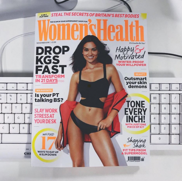 What are you reading? Health and Fashion magazines