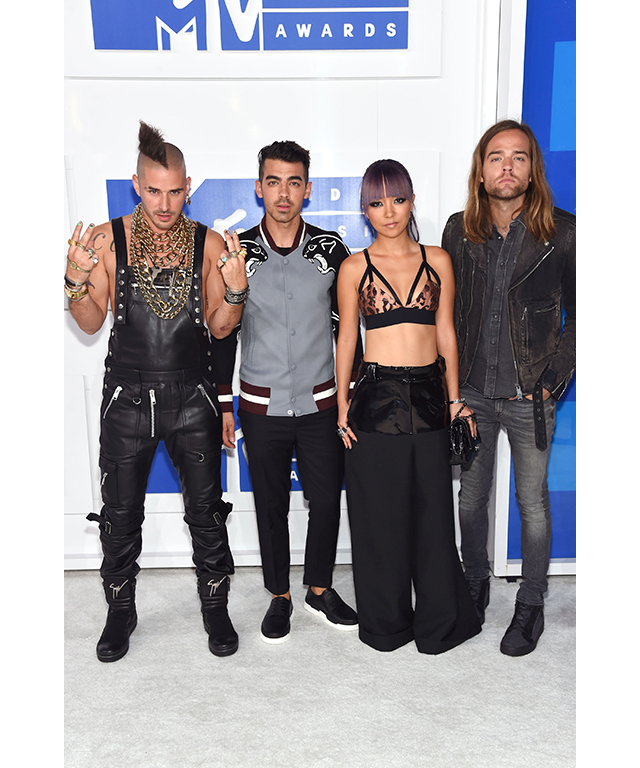 Cole Whittle, Joe Jonas, JinJoo Lee, Jack Lawless of DNCE