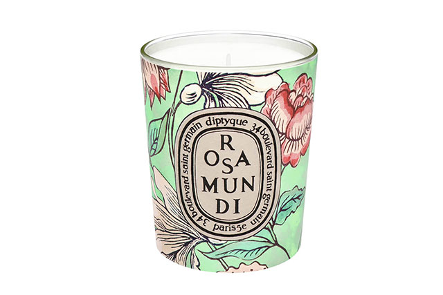 Diptyque Limited Edition Rosa Mundi Candle, $88 mecca.com.au