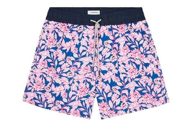 For the beach bum. Unless you're an Olympic swimmer or diver, Speedos are as uncomfortable to wear as they are to look at. Aussie brand Venroy's Swim Shorts, $85, venroycom.au, sit snugly on the hips, dry quickly in the sun and comes in some of the freshest prints on the sand.