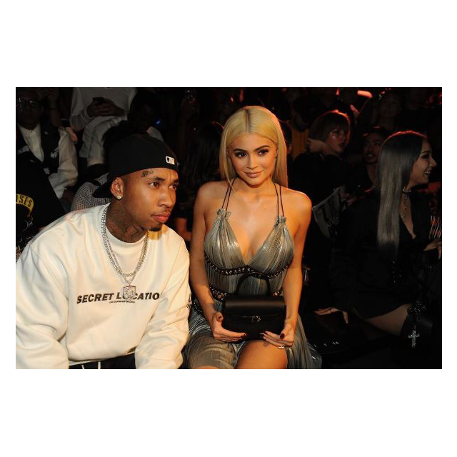 New Wang Squad members Kylie Jenner and Tyga were there, of course