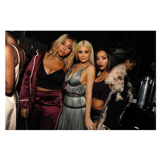 Jordyn Woods, Kylie Jenner and Tinashe