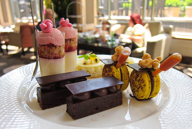Wickedly Sweet Chocolate Afternoon Tea, Shangri-La, Sydney:  For followers of pastry wunderkind Anna Polyviou, this is pretty much mecca. It's far too tricky to choose just one of her fabulous Willy Wonka-esque creations, so here you can sample them all.