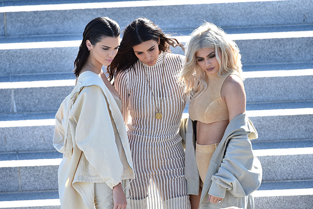Kendall, Kim and Kylie get their close up