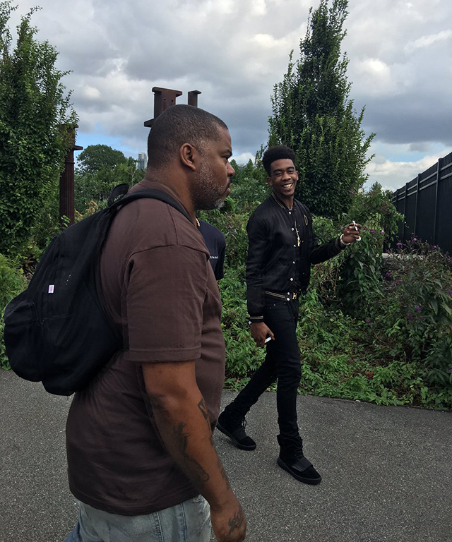 Rapper Desiigner, whose  track 'Panda' was famously sampled on 'The Life of Pablo'
