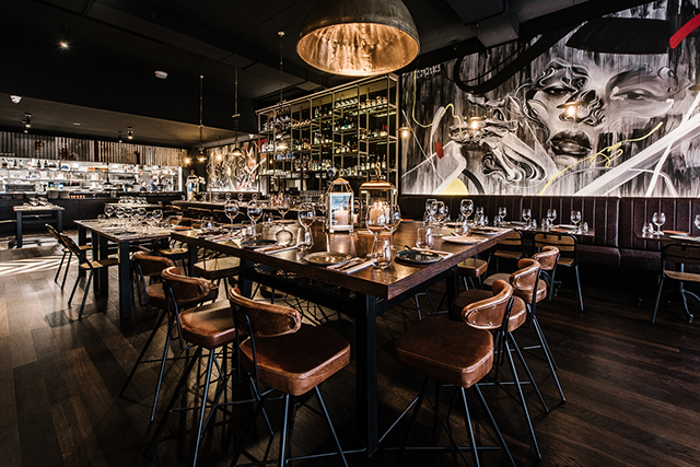 Eastside grill chippendale sydney s new grillhouse for Buro restaurant