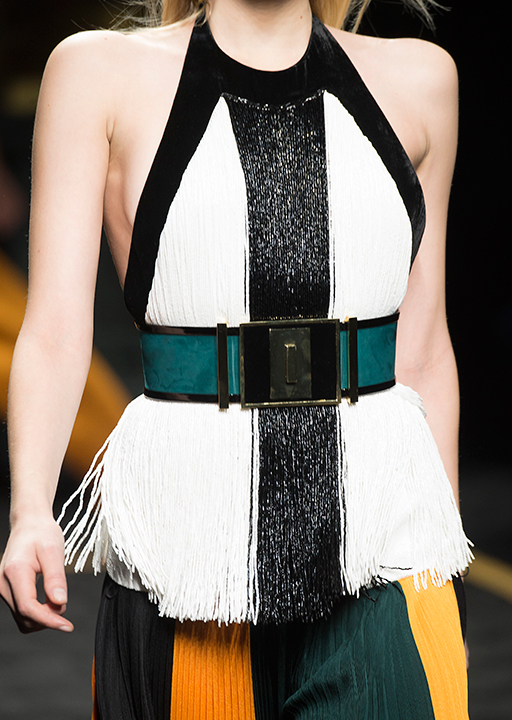Balmain:  The statement belt