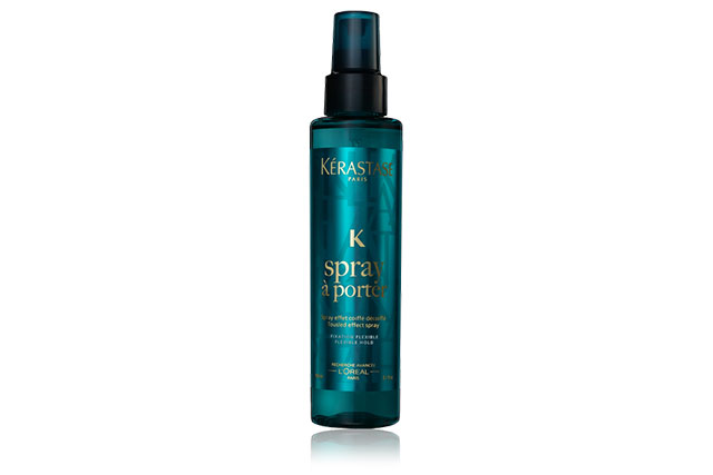 You'll need: Kérastase Paris Spray à Porte, $42