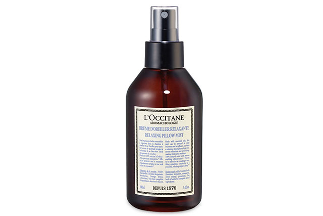 L'Occitane Aromachologie Relaxing Pillow Mist, $30: One spritz of this heavenly pillow spray will create a peaceful and calming vibe in your bedroom. And no need to worry about breathing this in all night, as it's made up of 100% natural oils.
