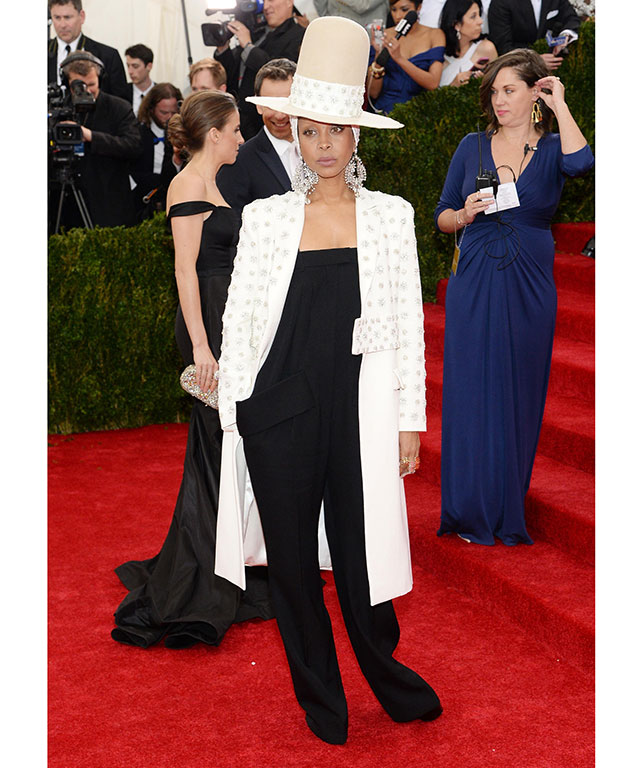 Erykah Badu at the 2014 MET Gala