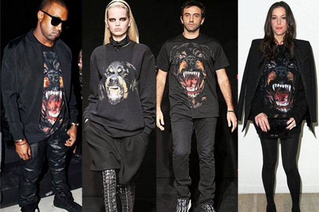 The cult classic graphic tee worn by Kanye, on the runway, Tisci himself and Liv Tyler
