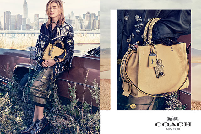 Chloe Grace Moretz for Coach S/S '17