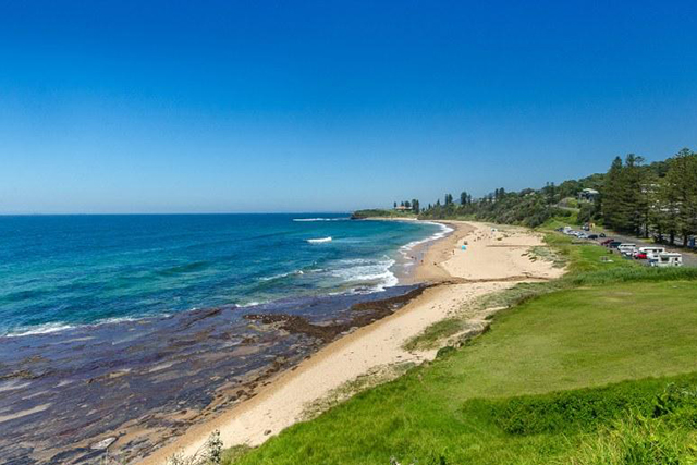 Coledale Beach: Just over an hour south of Sydney, there's no excuse not to plan a weekend down at Coledale. The small beach town is perfect for camping.