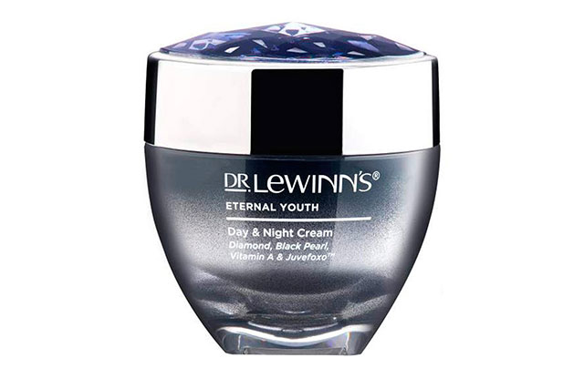 "Dr LeWinn's Eternal Youth Day & Night Cream: """"I make sure that I stay active with moisturising my skin and following a strict cleansing routine and taking my makeup off straight away when I get home."""