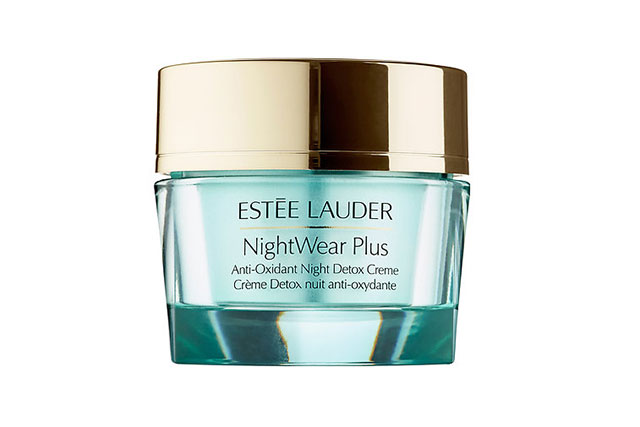 The night cream: Estée Lauder NightWear Plus Anti-Oxidant Night Detox Creme, $80