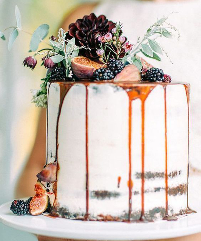 DRIP CAKES: A treat for the eyes and the tastebuds, the search for delicious drip cakes  jumped 437% this year.