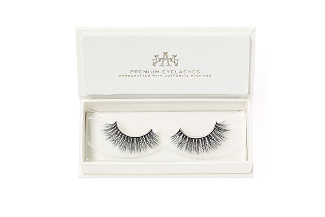 "Finish with false lashes: ""Faux Lashes are great to add volume and definition. I will sometimes even use lashes that are longer in the centre for clients that want a more of an open eye effect.""  Artemes Lashes, artemes.com.au"