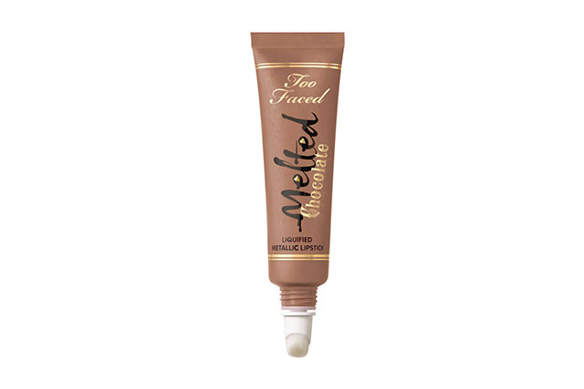 Too Faced Melted Chocolate Liquefied Lipstick in Chocolate Honey, $30 mecca.com.au