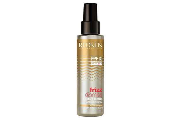 Redken 5th Avenue NYC Frizz Dismiss Leave-in Smoothing Oil Serum, $29.95