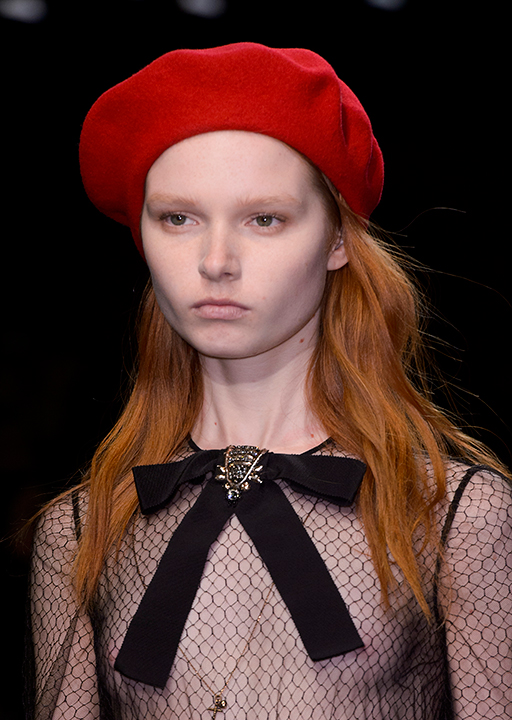 Gucci:  The beret