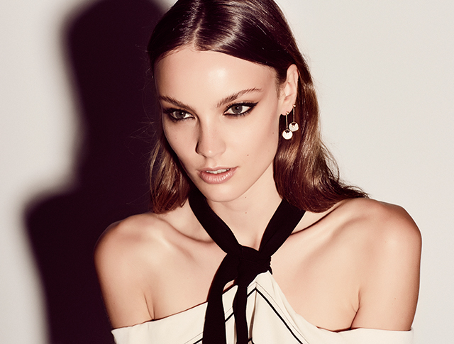 Samantha wears Amulette de Cartier jewellery and Proenza Schouler top, Parlour X.