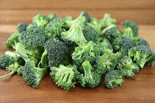 Broccoli - stimulates collagen, essential plumping to avoid a pinched pincer profile.