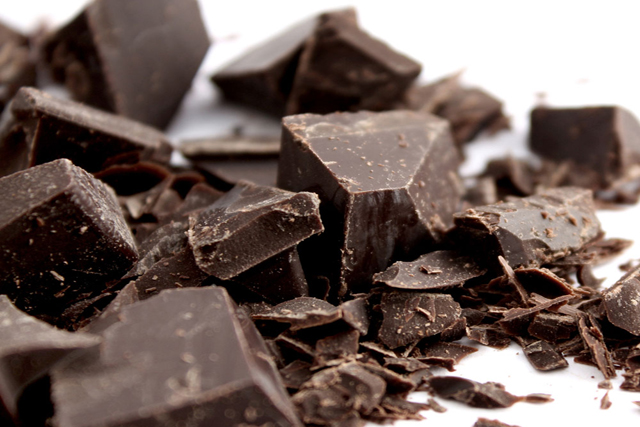 Dark chocolate. Truly. Go for 70% cocoa content or higher to get the antioxidant skin benefits.